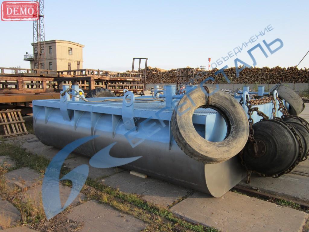 Производство металлоконструкций: понтоны