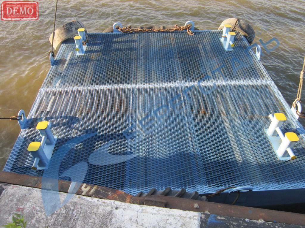 Метеллоконструкции СПБ: строительство понтонов
