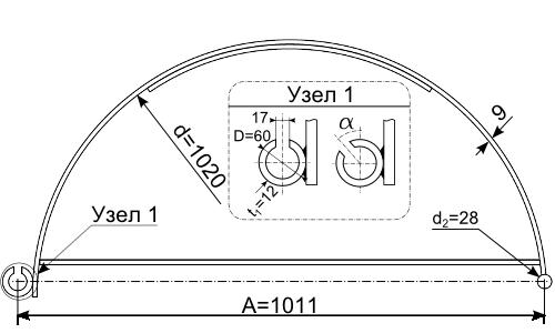 Чертеж шпунтовой сваи F-1610