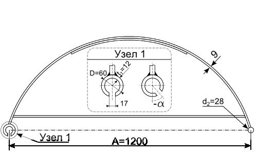 Чертеж шпунтовой сваи F2512