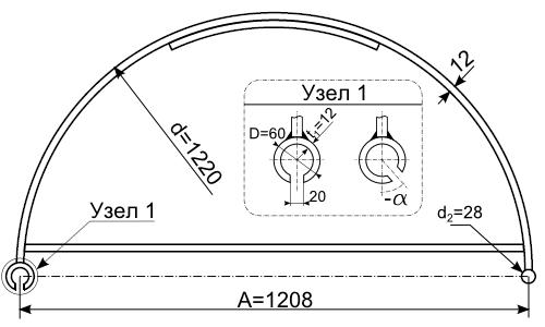 Чертеж шпунтовой сваи F6012
