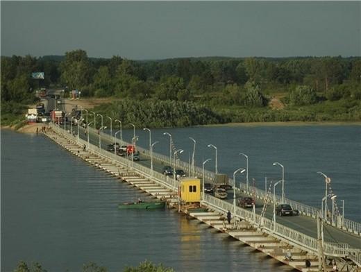 понтон, берегсталь, понтонная переправа, понтон их металлических труб, гидротехнические сооружения, мост, временная переправа
